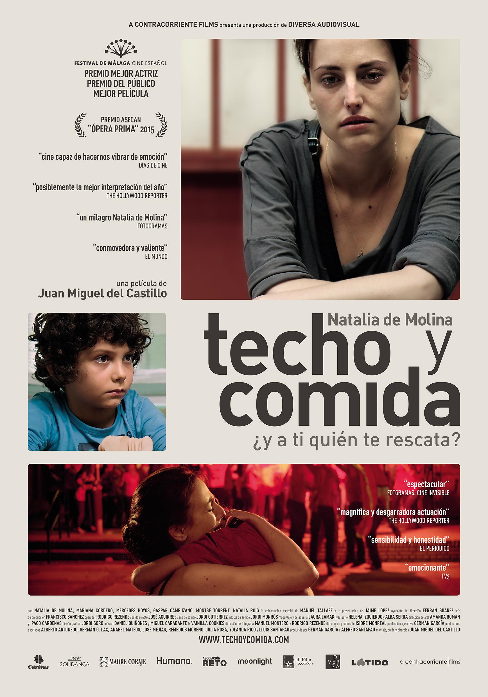 TECHO_Y_COMIDA_-_poster